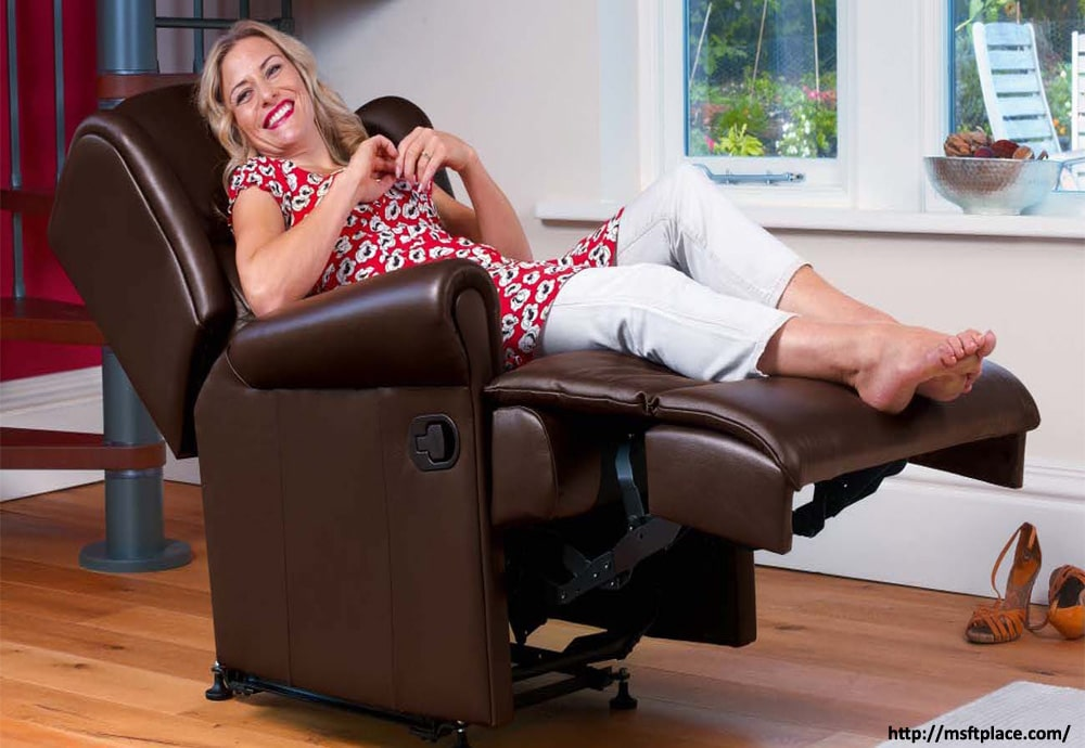 Sleeping in a Recliner Chair
