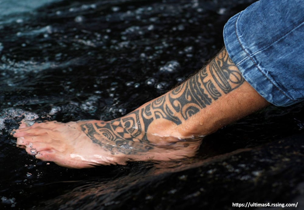 Avoid Excessive Water- tattoo healing process