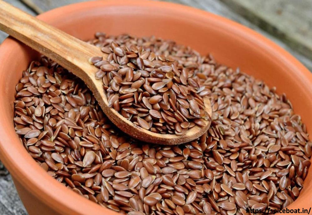 Flaxseeds neck fat
