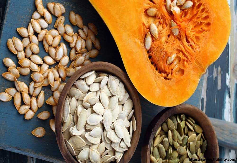 Mineral-Packed Sunflower Seeds And Pumpkin Seeds
