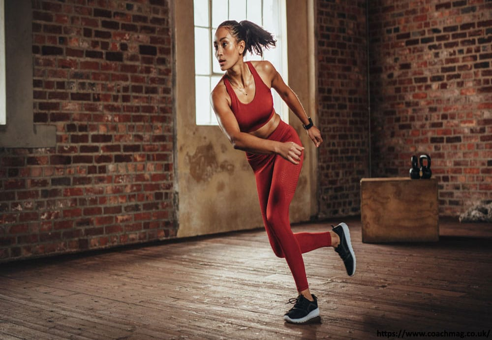 Skaters exercise to lose thigh fat